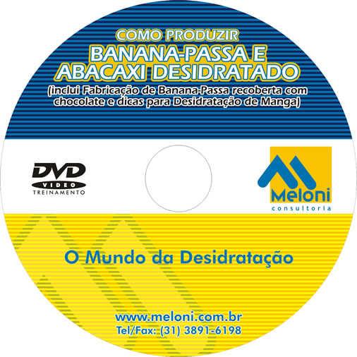 Como Produzir Banana-passa e Abacaxi Desidratado (DVD)